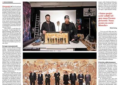 Presse: La Liberté ... BUNDESART - La photo officielle du Conseil Fédéral par STEMUTZ Bundesratsfoto