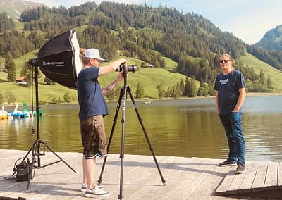 Making-Of... Schwarzsee Lac Noir Festival by STEMUTZ, 01.06.2021