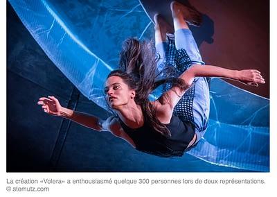 Publication d'image de Nicole Morel, fête de la Danse dans La Liberté online, 12.05.2015