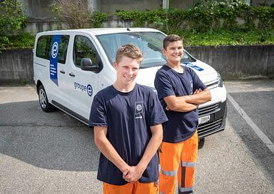 Groupe E Nouveau CI-CD et deux apprentis by STEMUTZ, Matran, 10.