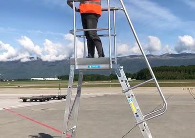 Making-Of Geneva Airport Shoot by STEMUTZ