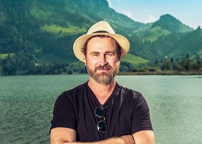 Pascal Vonlanthen (Gustav) ... Team Schwarzsee Lac Noir Festival by STEMUTZ, 01.06.2021