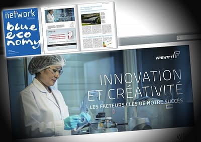 """Published in an Advert of the Swiss Milling Company FREWITT in the yearly Magazine """"Fribourg Network"""", March 2014"""
