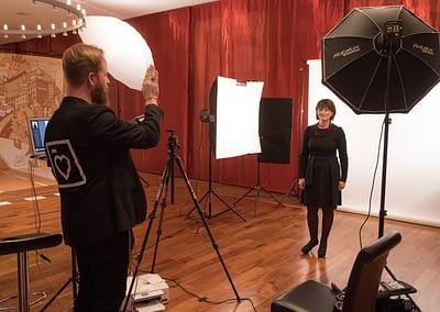 Making-Of ... BUNDESART - La photo officielle du Conseil Fédéral par STEMUTZ Bundesratsfoto