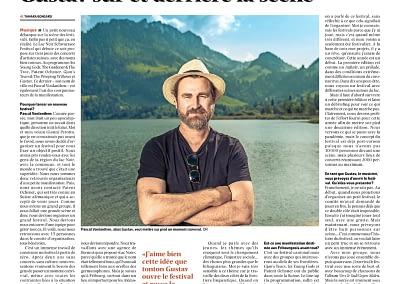 La Liberté - Präsident - président Pascal Vonlanthen LAC NOIR Schwarzsee Festival 2021 by STEMUTZ