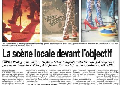 Photos & Article, LA LIBERTE © STEMUTZ.COM