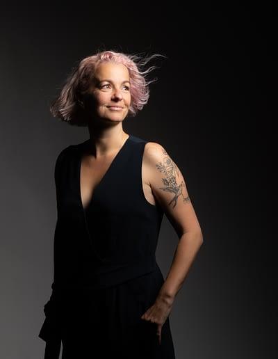 Portraits Régine Bourgeois by STEMUTZ, bluefactory, 06.10.2020
