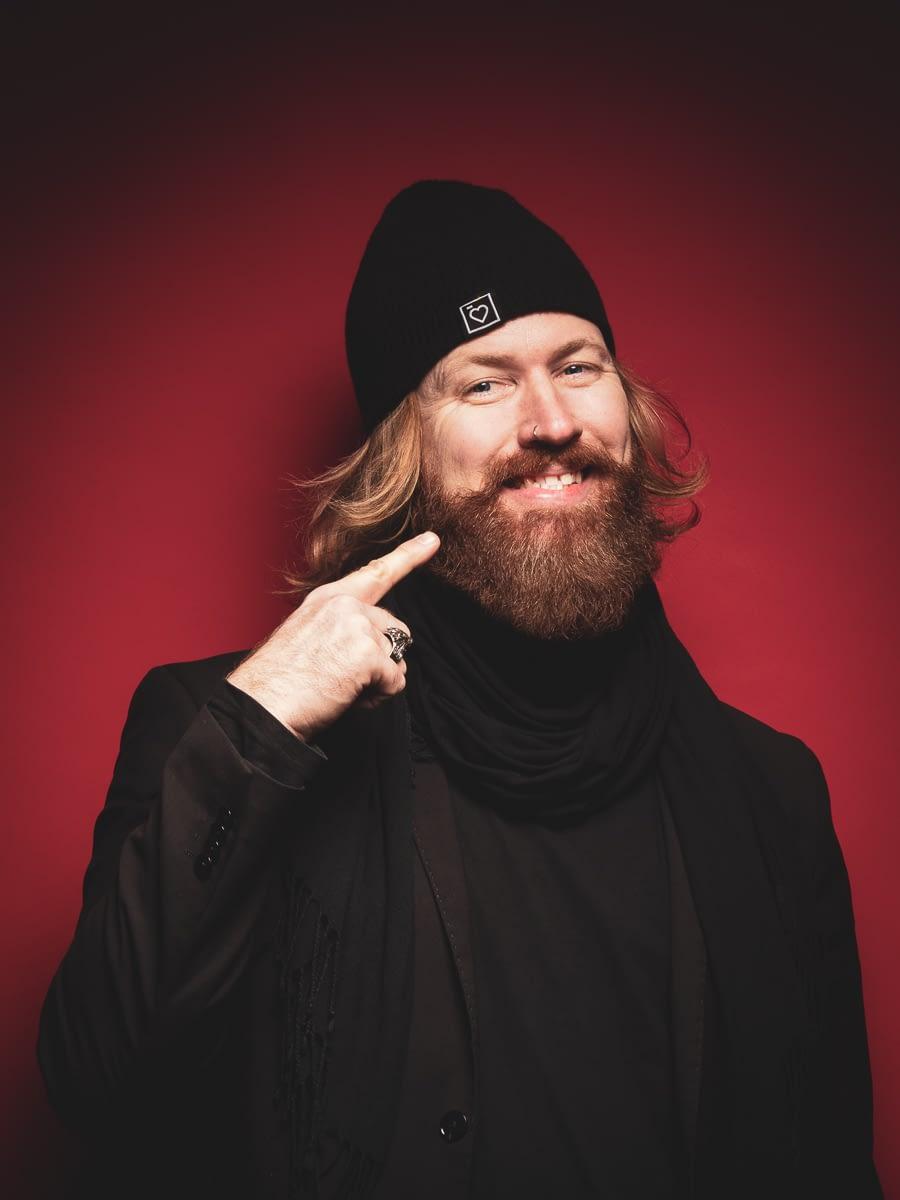 Auto-Portrait de Stéphane Schmutz, photographe à Fribourg
